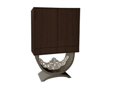 Wood veneer bar cabinet DIVUS | Bar cabinet