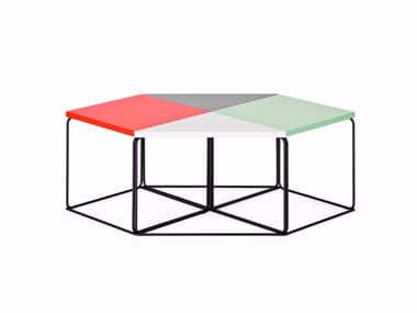 Modular triangular coffee table DL1 | Triangular coffee table