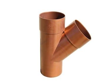 Braga semplice per tubo pluviale DLR45063