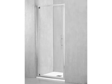 Box doccia a nicchia con porta pivotante DM-PGI