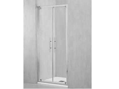 Box doccia a nicchia con porta pivotante DM-PSA2