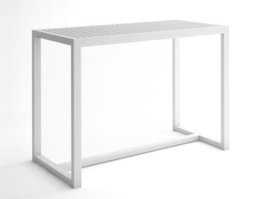 Rectangular aluminium high table DNA | High table
