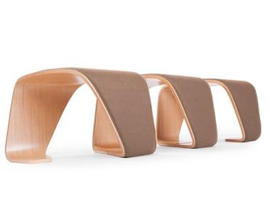Upholstered modular bench DNA | Upholstered bench
