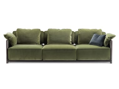 3 seater velvet sofa DODO | Sofa