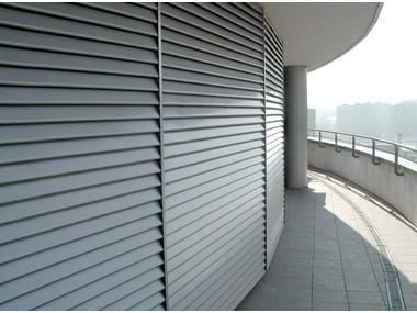 Aluminium Panel for facade / solar shading SUNSCREEN STAVES