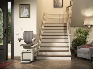 Chairlift for curved staircases DOLCE VITA