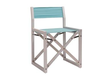 Folding open back garden chair DOLCEVITA REGISTA TSSE01