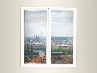 Finestra in alluminio e vetro con doppio vetro DOMAL TOP TB65 MINIMALE