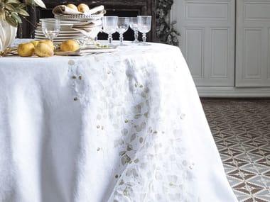 Linen tablecloth DOMANIALE