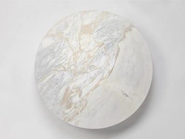 Plafoniera a LED a luce indiretta fatta a mano in marmo DOME | Plafoniera