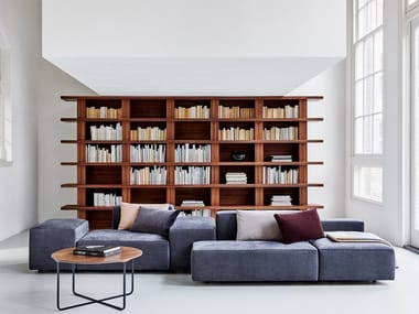 Modular fabric sofa DOMINO.18