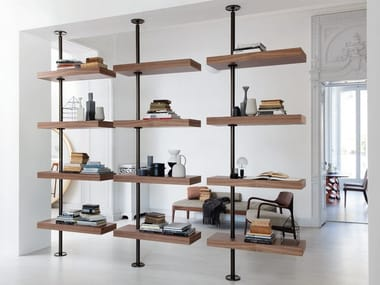 Floor Ceiling Mounted Bookcases