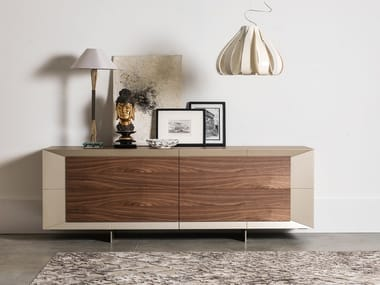 Sideboard with sliding doors DOMINO