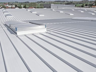 Metal sheet for roof DOMITEC® ROOF