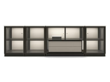 Modular sideboard with integrated lighting DOMUS | Sideboard