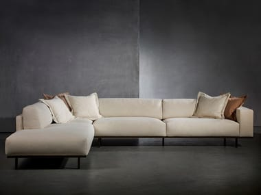 Sectional sofa with fire retardant padding DON LIVING | Sofa