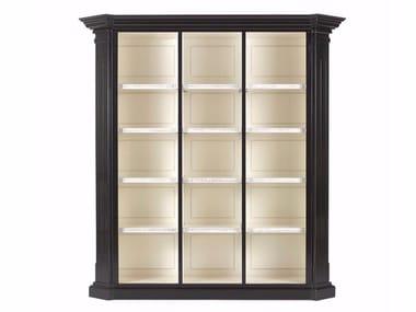 Open beech bookcase DONALD | Bookcase