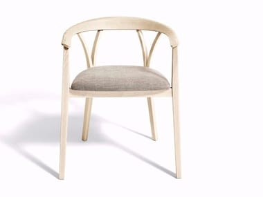Ash chair with armrests DONZELLETTA