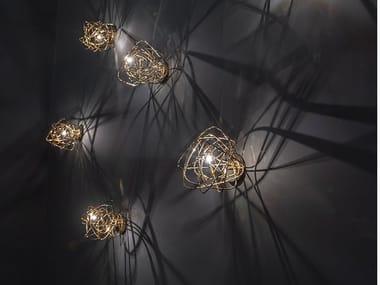 Lampada da parete a LED in metallo DOODLE | Lampada da parete