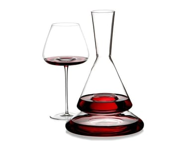 Borosilicate glass decanter DOPPIO