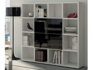 Modular office shelving DORIA CUBE