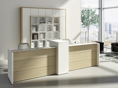 Office reception desk DORIA | Office reception desk