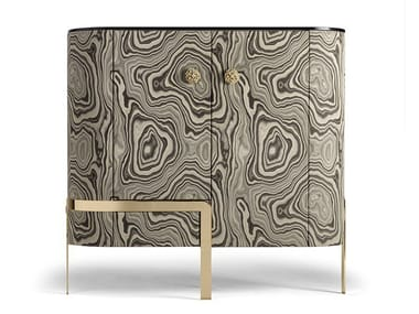Bar cabinet covered with fabric DORIS