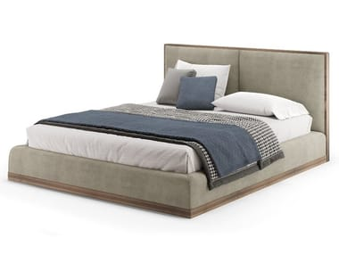 Upholstered velvet double bed DORSEY | Bed