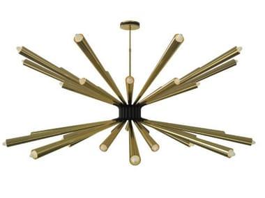 Lampada da soffitto in ottone DORSEY | Lampada da soffitto