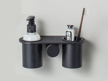 Mensola bagno in ottone DOT | Mensola bagno