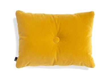 Solid-color rectangular cotton cushion DOT CUSHION SOFT