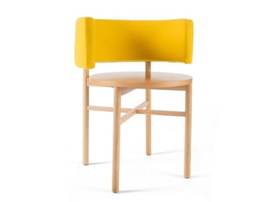 Solid wood chair DOT