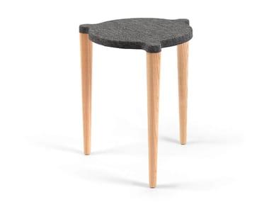 Stackable felt stool DOT