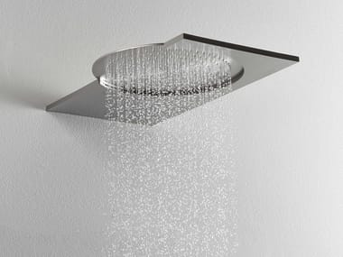 Wall-mounted 2-spray stainless steel overhead shower DOT316 | 2-spray overhead shower