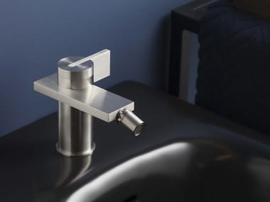 Countertop 1 hole stainless steel bidet mixer DOT316 | Bidet mixer
