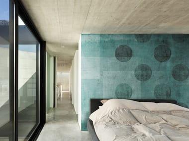 Papel de parede pontilhado panorâmico DOTS