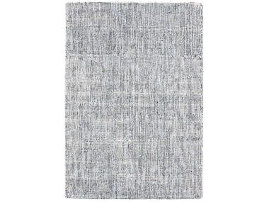 Handmade rectangular rug DOTS