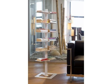 Open freestanding bookcase DOTTO | Freestanding bookcase