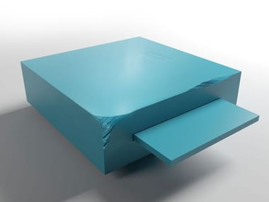 Low square coffee table DOUBLE