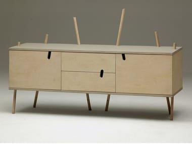 Wooden sideboard DR.ZAK