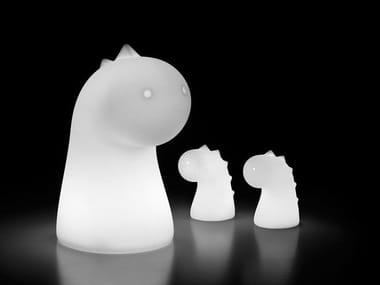 Polyethylene table lamp for children DRAGO LIGHT
