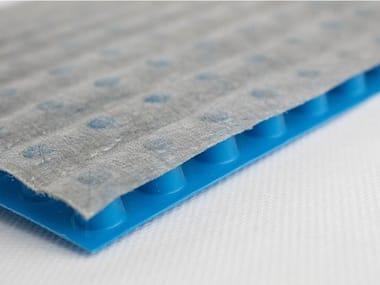 Prefabricated polymer membrane DRAIN