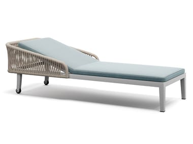Upholstered fabric Garden daybed DREAM 2.0 | Sun lounger