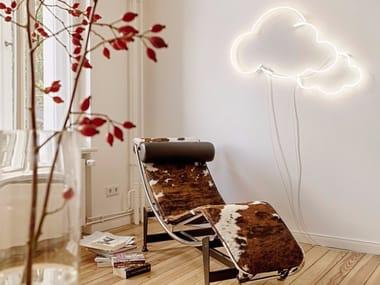 Wall-mounted neon light installation DREAMS