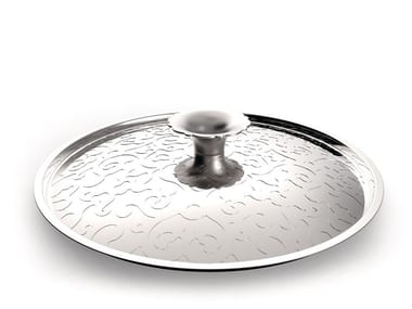 Stainless steel pan lid DRESSED | Pan lid