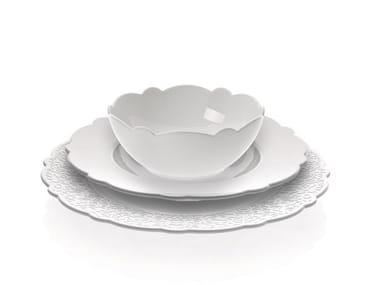 Porcelain plates set DRESSED | Plates set
