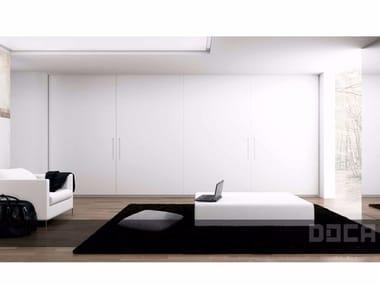 Lacquered wardrobe with sliding doors DRESSING WHITE SEDAMAT