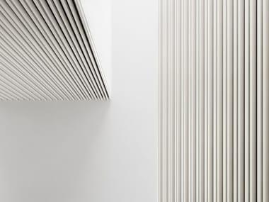 Ceiling mounted aluminium boiserie DRESSWALLSTRIPES Mix&Match