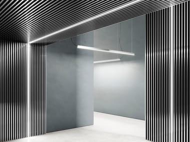Aluminium linear lighting profile for LED modules DRESSWALLSTRIPES SQ-L35