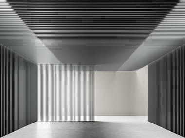 Aluminium Partition wall DRESSWALLSTRIPES SQ-R35